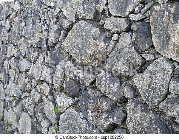 grey old stone background - csp1282250
