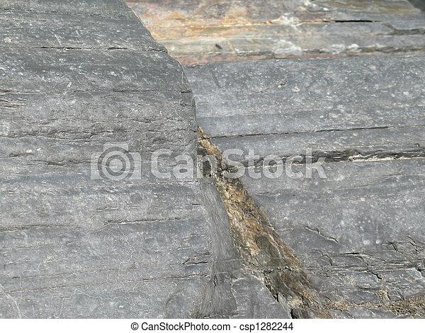 grey rock close up background - csp1282244