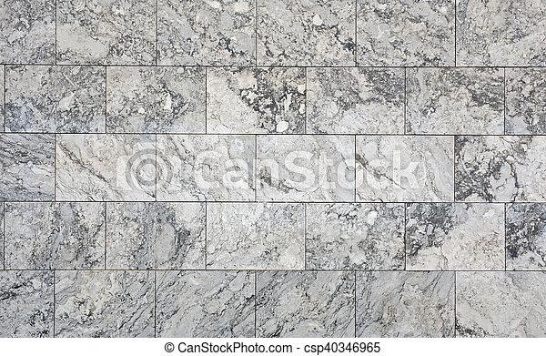 Grey stone wall - csp40346965