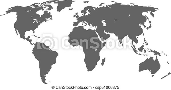 Grey world map infographic layout isolated on white world grey world map infographic layout isolated on white world map vector globe template for gumiabroncs Choice Image