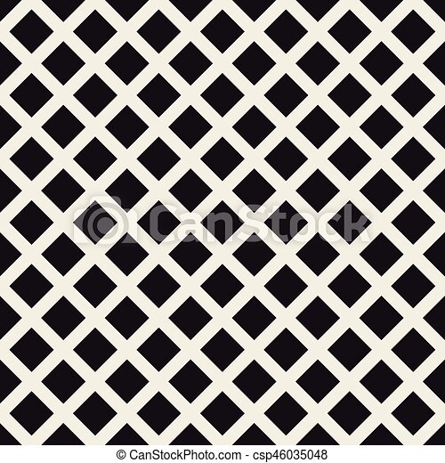 Grid geometric seamless pattern. - csp46035048