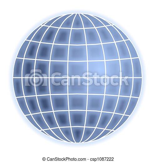 grid globe - csp1087222