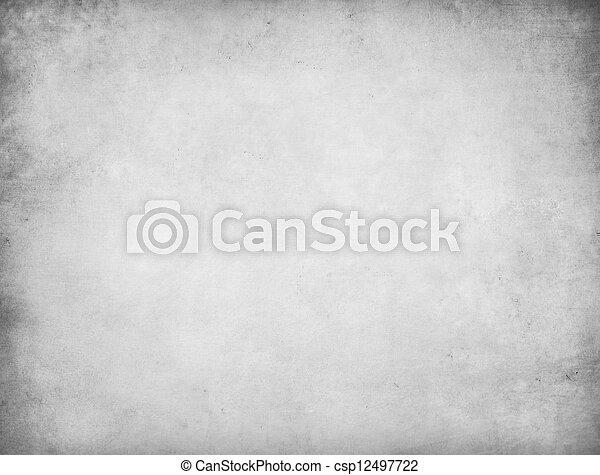grijs, grunge, achtergrond - csp12497722