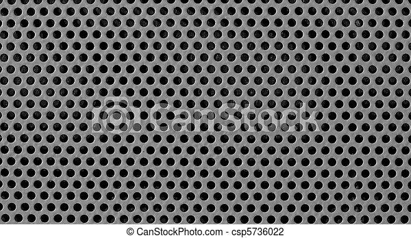 grijs, industriebedrijven, rooster achtergrond - csp5736022