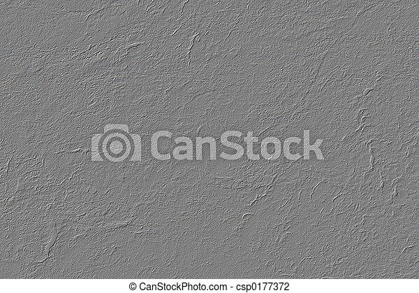 grijs, stucco, textuur - csp0177372
