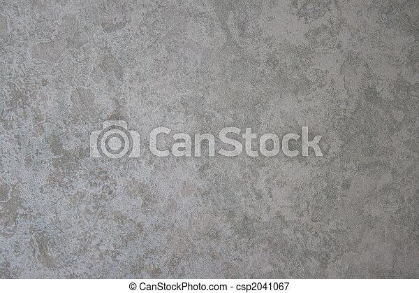 grijs, textuur, zilver, papier, beige knikker - csp2041067