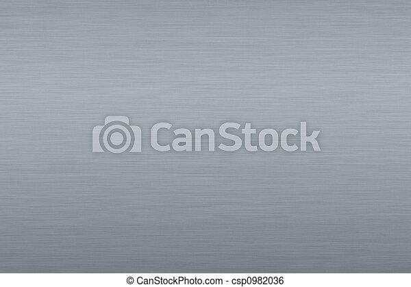 grijze achtergrond, metalen - csp0982036
