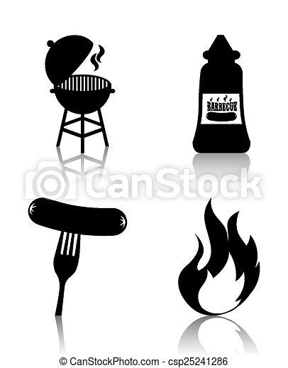 grill, étrend - csp25241286