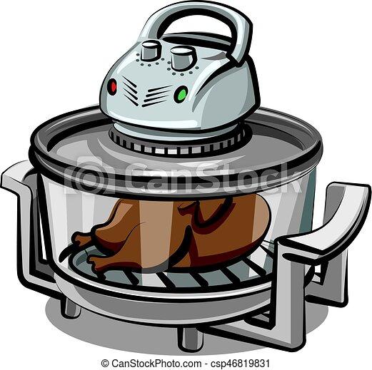 grill, készülék, elektromos - csp46819831