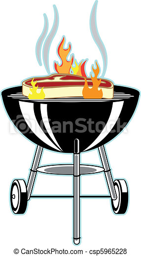 grill, kerti-parti - csp5965228