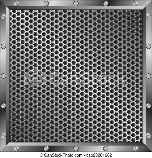grillage, fundo - csp23201682