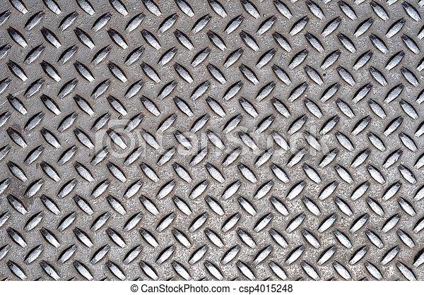 grille métal, croix, texture - csp4015248