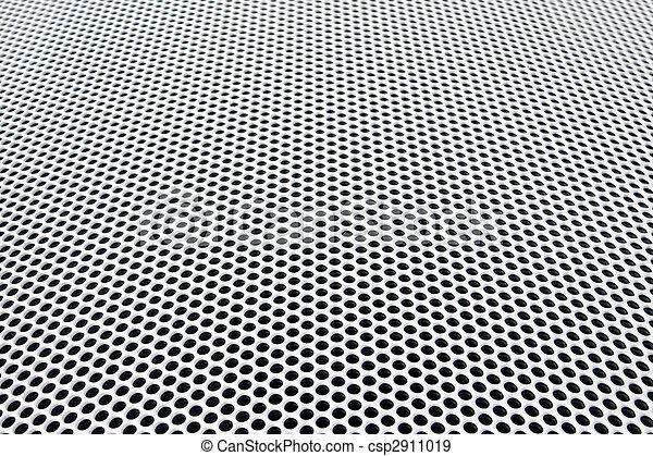 grille métal, perspective - csp2911019