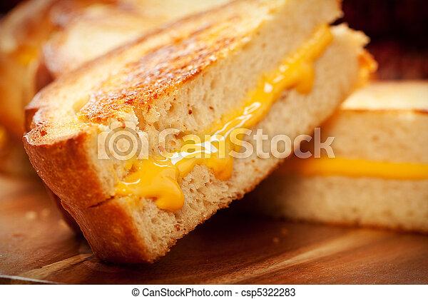 Grilled Cheese Sandwich - csp5322283