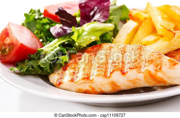 Grilled chicken breast - csp11109727