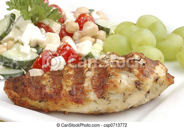 Grilled Chicken - csp0713772
