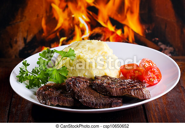 grilled meat - csp10650652