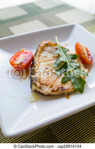 Grilled Salmon - csp29916104