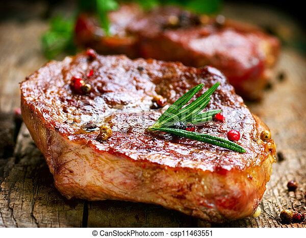 Grilled Steak - csp11463551