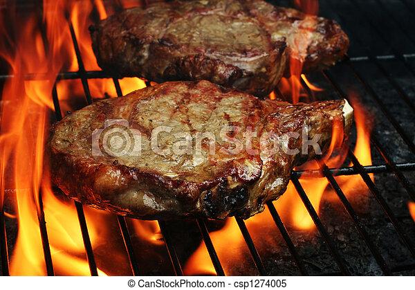 Grilled Steaks - csp1274005