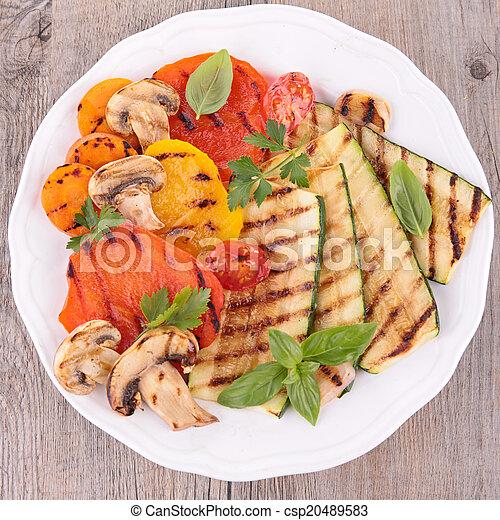 grilled vegetables - csp20489583