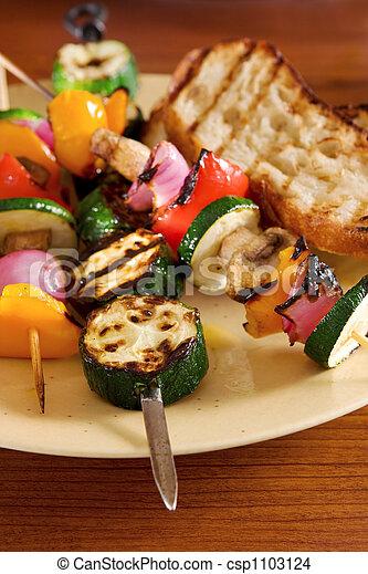Grilled vegetables - csp1103124