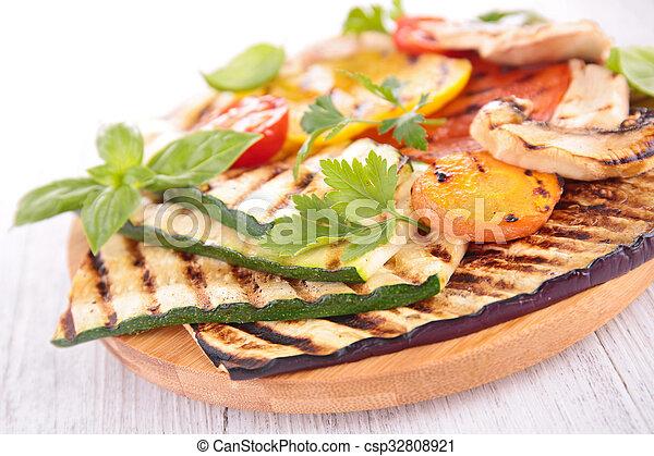 grilled vegetables - csp32808921