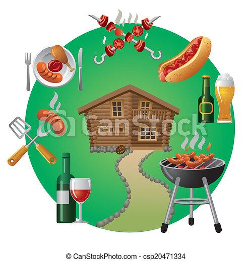 grillsütő - csp20471334