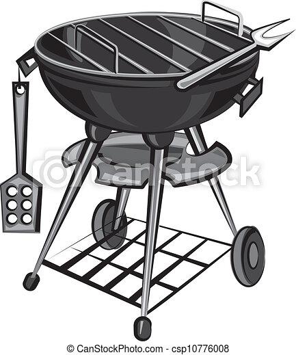 grillsütő, készülék, grill - csp10776008