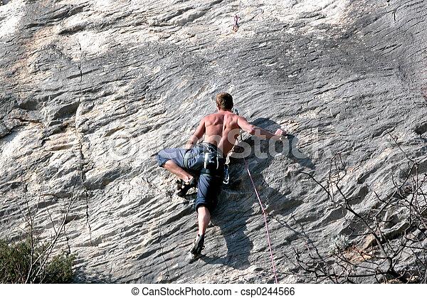 grimpeur - csp0244566