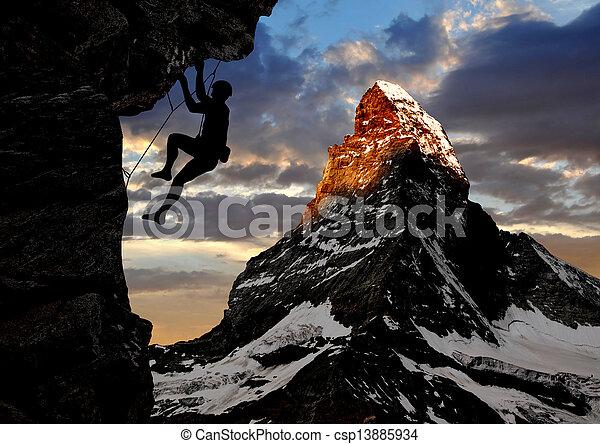 grimpeurs - csp13885934