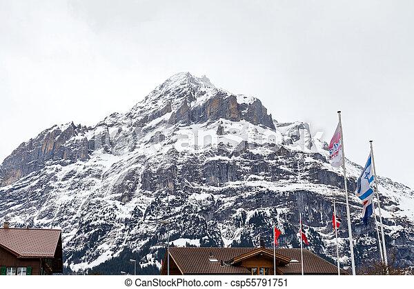 Grindelwald, swiss alps - csp55791751