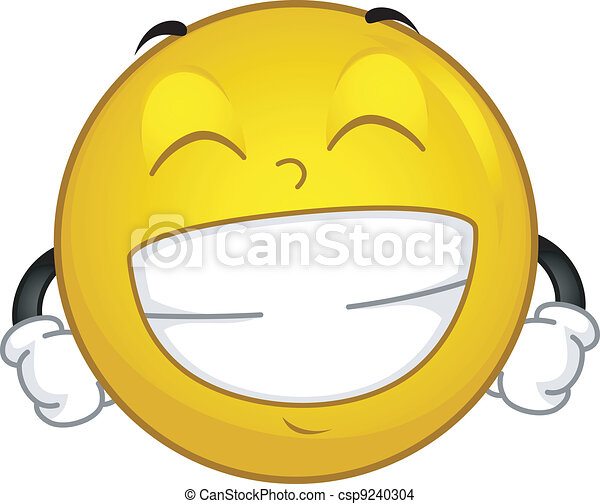 grinning smiley eps vector csp9240304