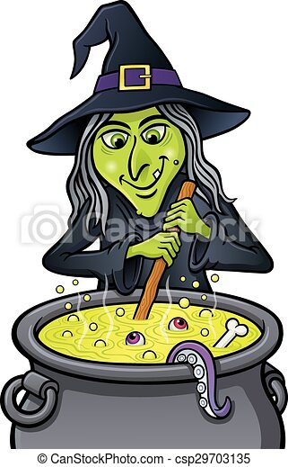 grinning witch stirring cauldron cartoon illustration of a grinning witch character stirring a mixing bowl clipart png mixing bowl clipart png