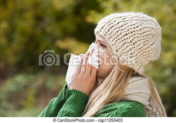 Flu - csp11255403