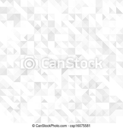 textura geométrica gris, sin costura - csp16075581