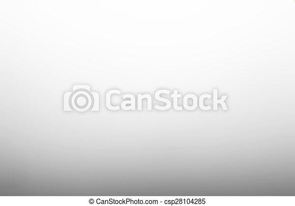 gris, gradient, résumé, lisser, fond, blanc - csp28104285