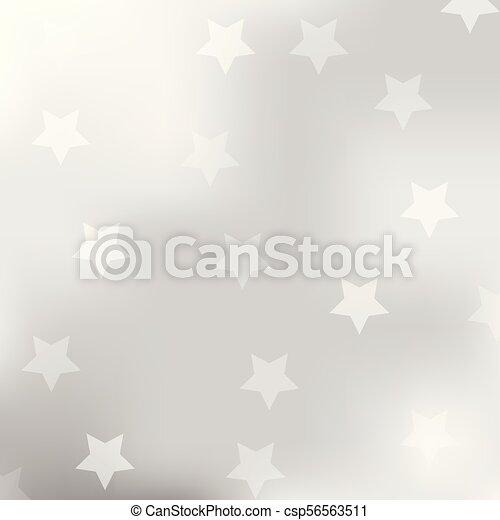 gris, résumé, étoile, fond - csp56563511