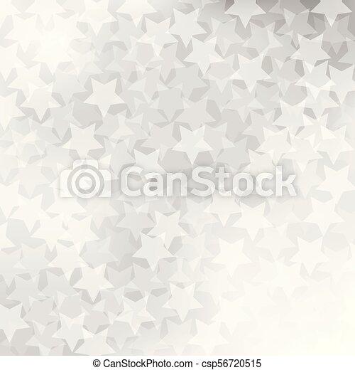 gris, résumé, étoile, fond - csp56720515
