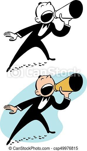 El sábado nos toca hablar a la afición Gritos-meg%C3%A1fono-por-hombre-clip-art-vectorial_csp49976815