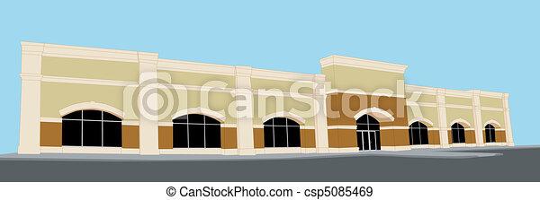 groß, einzelhandelsgeschäft - csp5085469