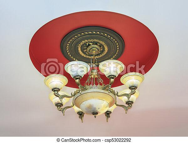 Kronleuchter Barock ~ Kronleuchter barock jugendstil lampe messing kronleuchter barock