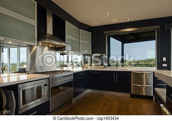 Große Küche - csp1403434