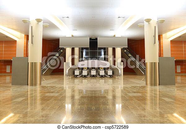 gro modern boden zwei allgemein spalten granit flughafen rolltreppen halle ansicht. Black Bedroom Furniture Sets. Home Design Ideas
