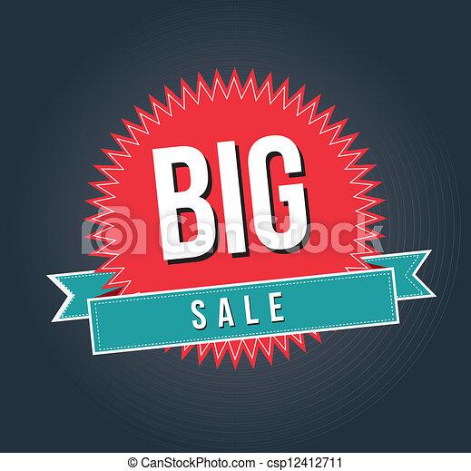 Großer Verkauf - csp12412711