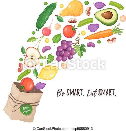 grocery paper bag - csp50880913