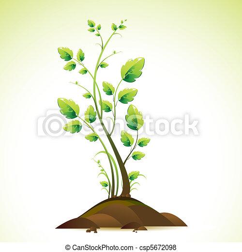 groeiende, boompje - csp5672098