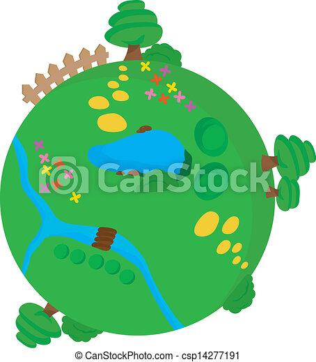 groene, milieu - csp14277191