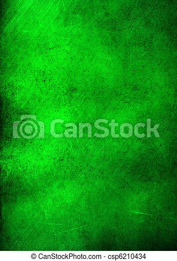 groene samenvatting, grunge, achtergrond - csp6210434