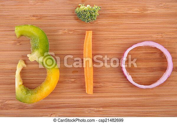 groente, bio - csp21482699